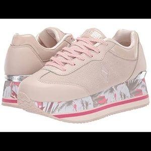 SKETCHERS Highrise City Bloomz Platform Sneaker
